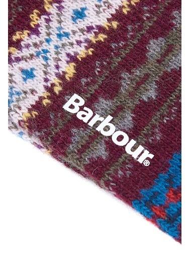 Barbour Boyd Çorap Bu17 Burgund Bordo